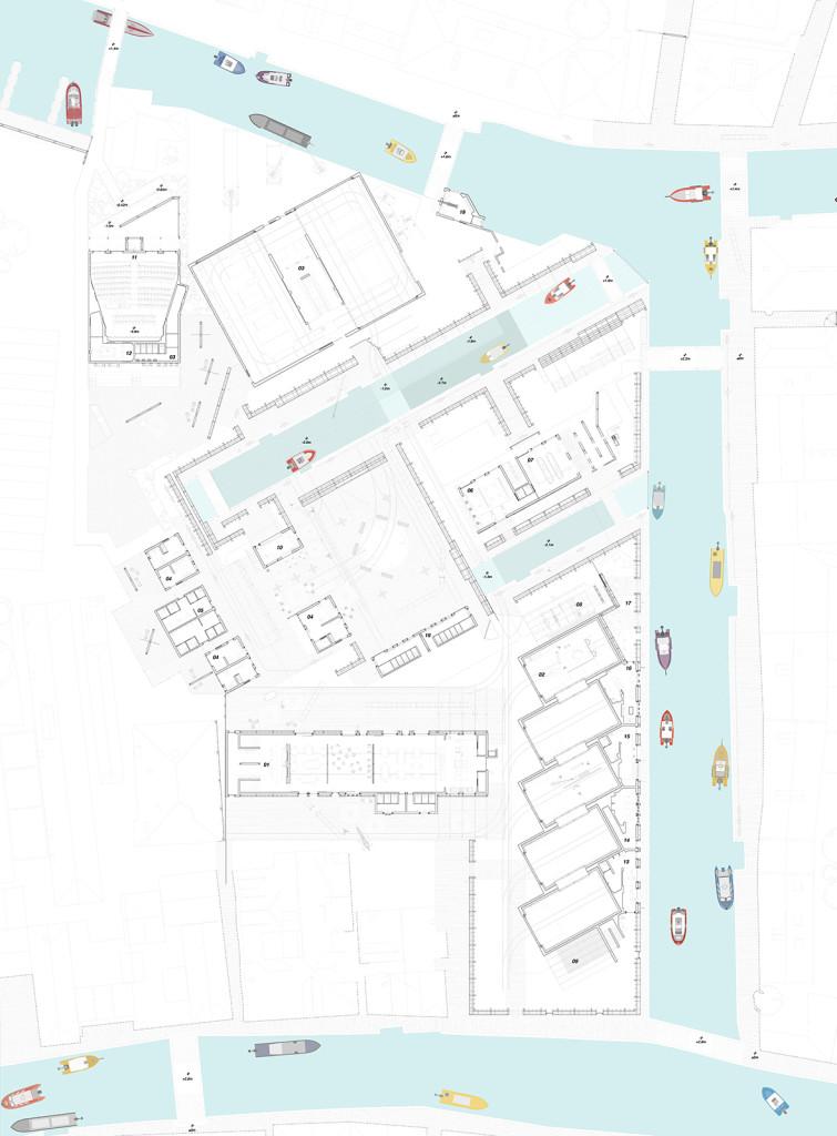 The Venetian Film Studio Plan