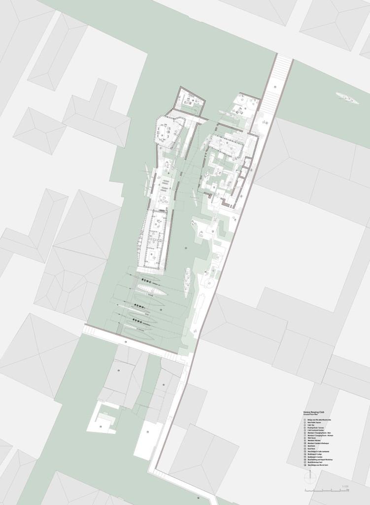 Ground floor plan 1:100